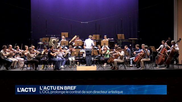 L'OCL prolonge le contrat de son chef d'orchestre