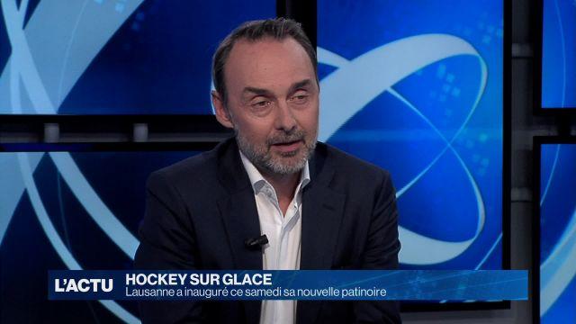 Le Lausanne HC a inauguré ce samedi sa nouvelle patinoire