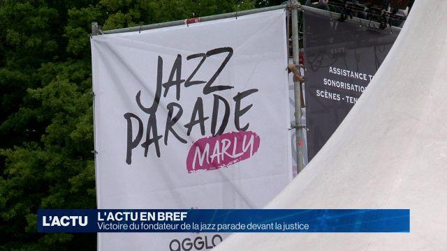 Victoire du fondateur de la jazz parade devant la justice