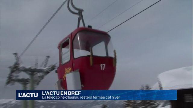 La télécabine d'Isenau restera fermé cet hiver
