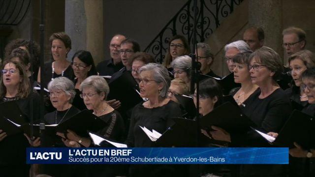 Succès pour la 20ème Schubertiade à Yverdon-les-Bains