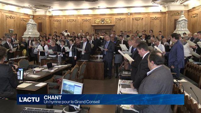 Un hymne pour le Grand Conseil