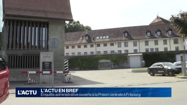 Licenciement à la prison centrale de Fribourg