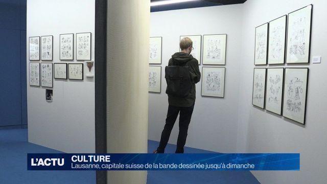 Lausanne, capitale  de la bande dessinée jusqu'à dimanche