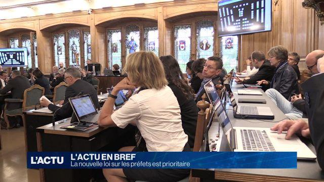 La nouvelle loi sur les préfets fribourgeois est prioritaire