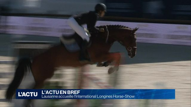 Lausanne accueille l'International Longines Horse-Show