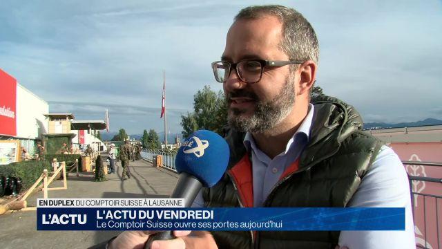 Le 98ème comptoir Suisse débute à Lausanne