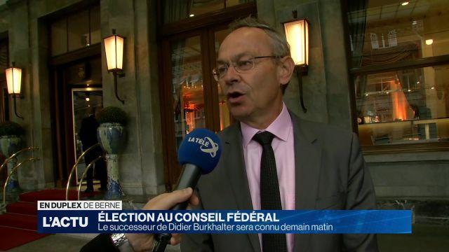 Conseil Fédéral: Les stratégies s'affinent