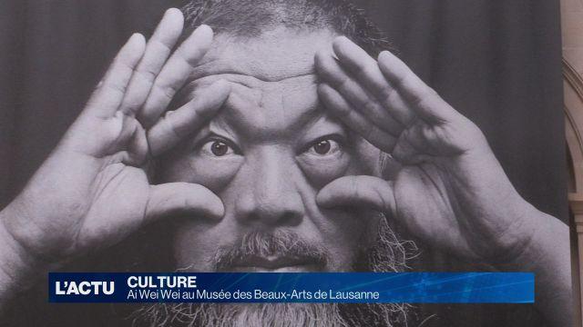 Ai Wei Wei au Musée des Beaux-Arts de Lausanne