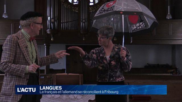 Le français et l'allemand se réconcilient à Fribourg (P.1)