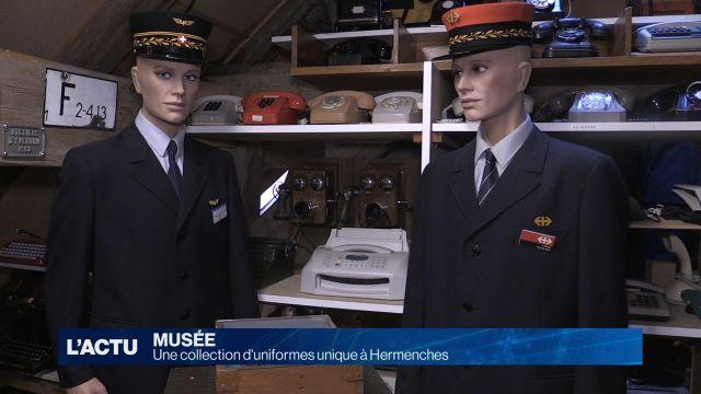 Une collection d'uniformes unique à Hermenches