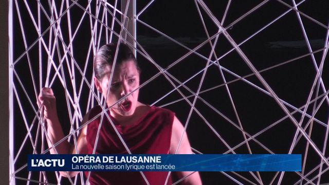 La saison 2017/2018 de l'Opéra de Lausanne débute