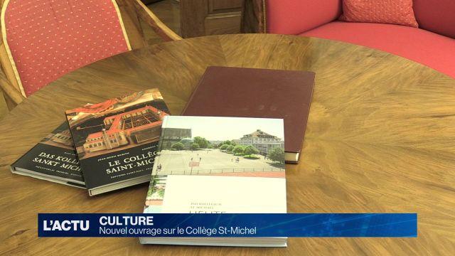 Un nouvel ouvrage est consacré au Collège St-Michel.