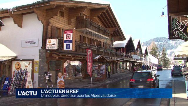 Un nouveau directeur pour les Alpes vaudoise