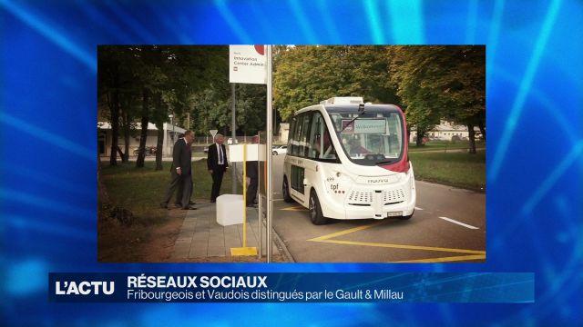 Fribourgeois et Vaudois récompensés par le Gault & Millau