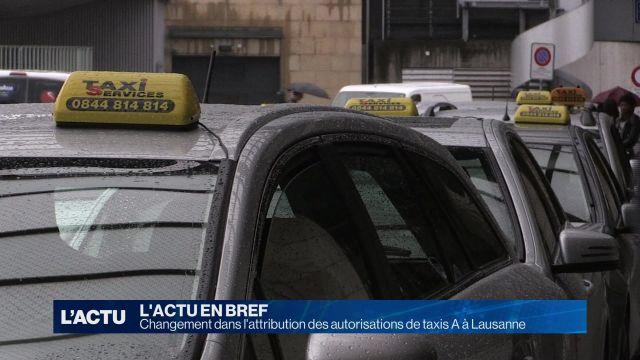 Victoire pour les chauffeurs de taxis lausannois