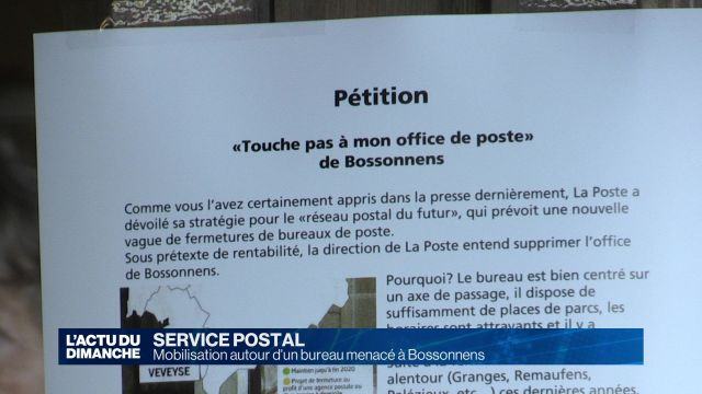 Bossonnens : touche pas à ma poste !