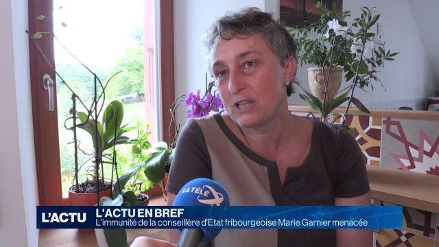 Marie Garnier pourrait perdre son immunité.