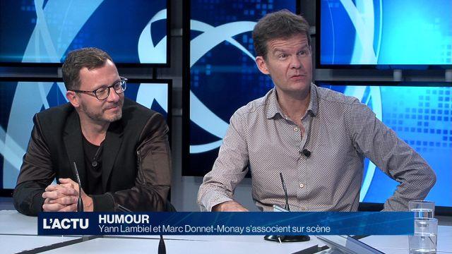 Yann Lambiel et Marc Donnet-Monay s'associent sur scène