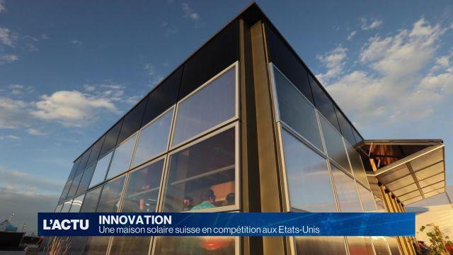 Une maison solaire suisse en compétition aux Etats-Unis