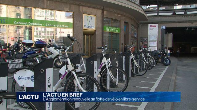 De nouveaux vélos publics pour l'agglo