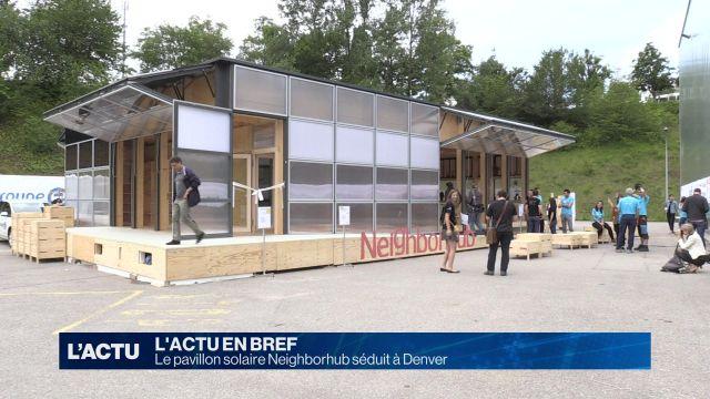 Le pavillon solaire Neighborhub séduit à Denver