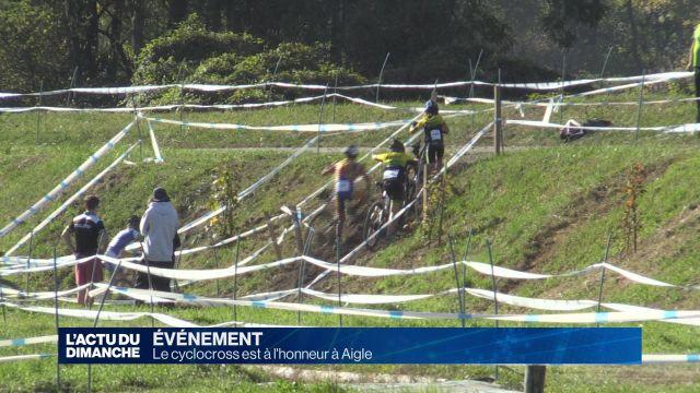 Aigle accueille l'EKZ CrossTour