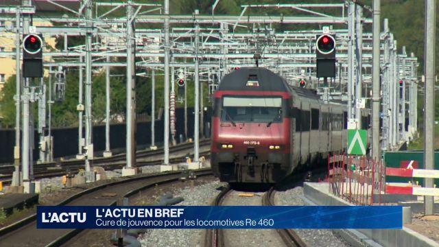 Cure de jouvence pour les locomotives Re 460