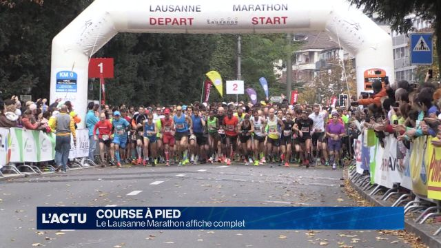 Le 25ème Lausanne Marathon affiche complet