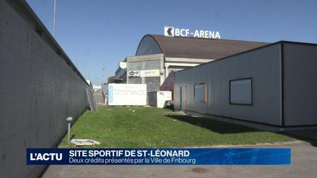 Deux crédits pour le site sportif deSt-Léonard.