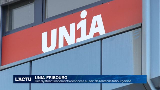 Des dysfonctionnements dénoncés chez UNIA-Fribourg
