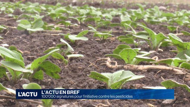L'initiative contre les pesticides devrait aboutir