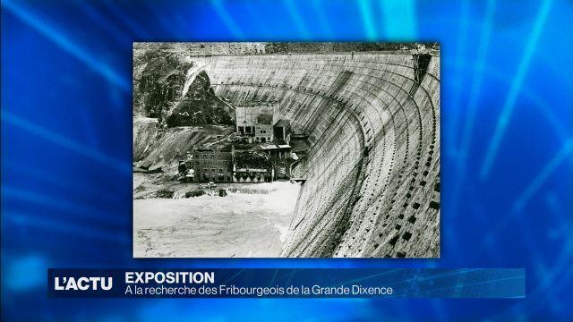 Fribourg et le barrage de la Grande Dixence sont très proche