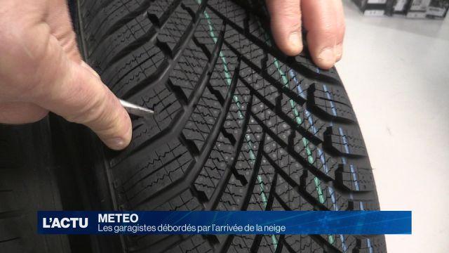 La saison du changement des pneus est arrivée