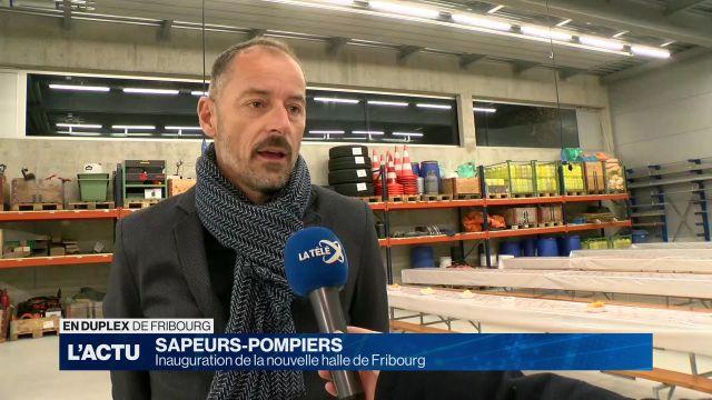 Nouvelle halle pour les sapeurs-pompiers de Fribourg