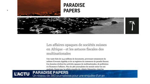 Paradise Papers: Le Matin Dimanche a enquêté