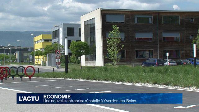 Une nouvelle entreprise s'installe à Yverdon-les-Bains