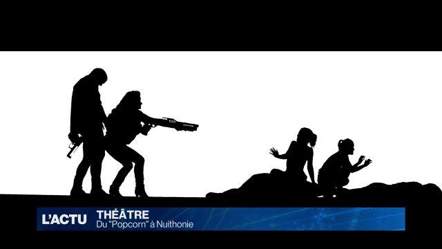 La violence en question au théâtre avec la pièce Popcorn