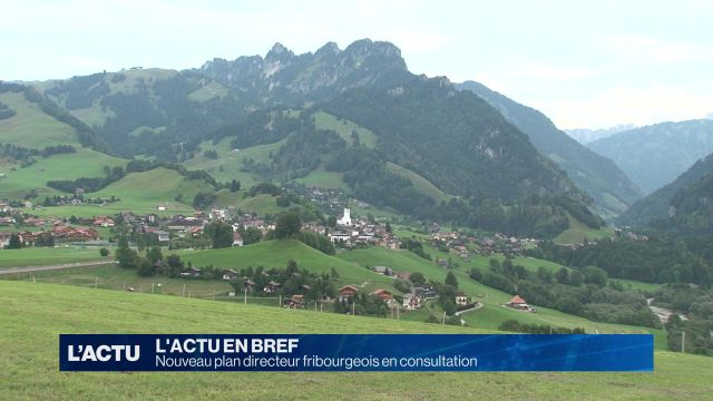 Le canton de Fribourg se prépare à une densification