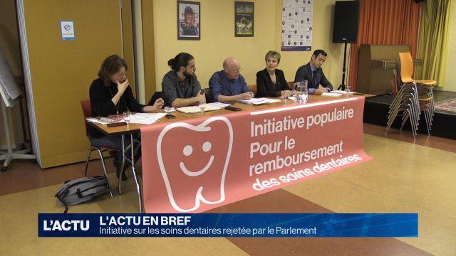 Le parlement rejette l'initiative sur les soins dentaires