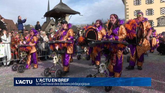 Le Carnaval des Bolzes sous le signe de la pédagogie