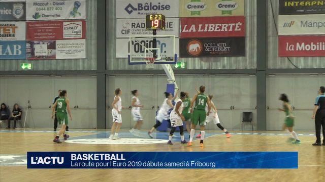 La route pour l'Euro 2019 débute samedi à Fribourg