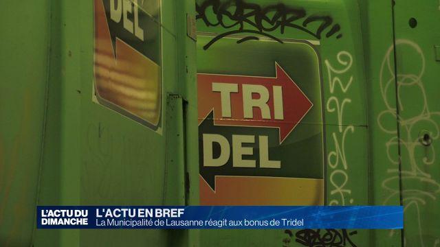 La Municipalité de Lausanne réagit aux bonus de Tridel