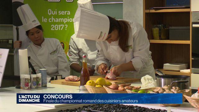 Finale du championnat romand des cuisiniers amateurs