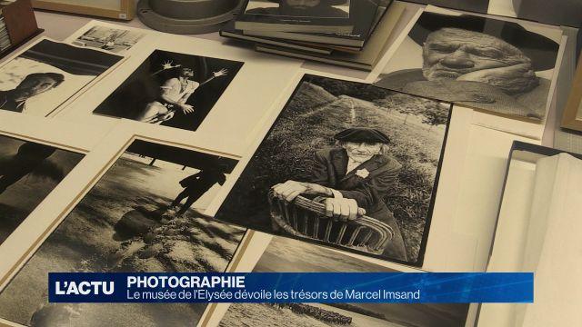Le Musée de l'Elysée dévoile les trésors de Marcel Imsand