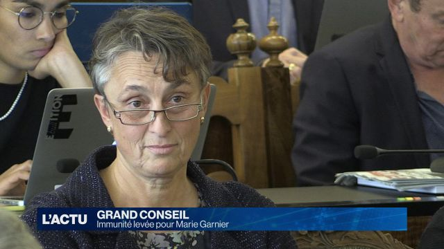 Immunité levée pour Marie Garnier