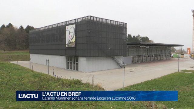 La salle Mummenschanz fermée jusqu'en automne 2018