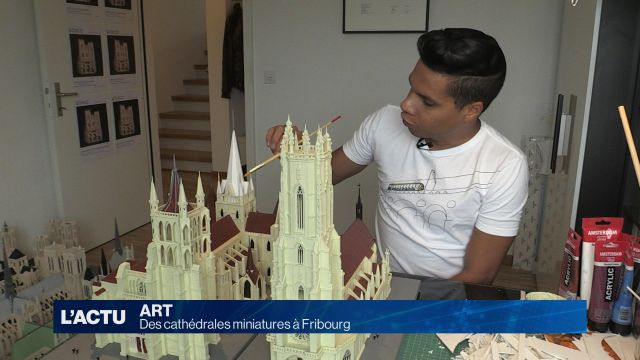 Cathédrales en version miniatures