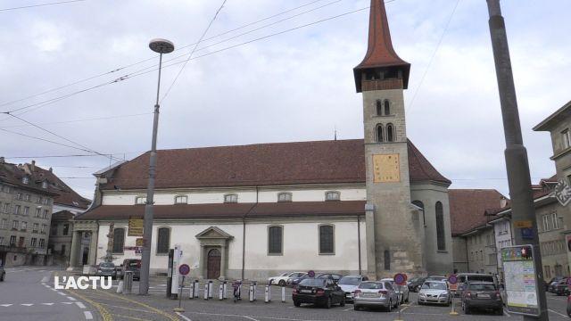 Levée de fonds à la basilique de Fribourg