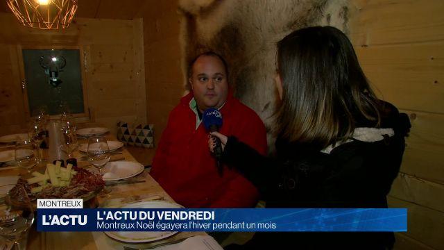 Montreux Noël égayera l'hiver pendant un mois